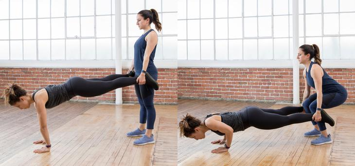 Have fun with a friend with these partner workouts.