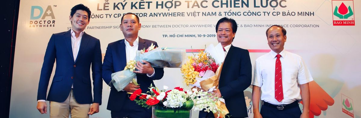 Doctor Anywhere has partnered with Bao Minh Insurance to launch the most comprehensive digital healthcare service in Vietnam.