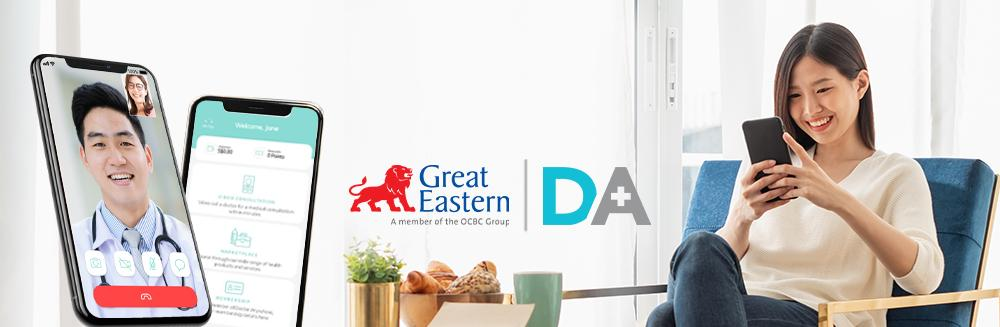 Learn more about the partnership DA has with Great Eastern.