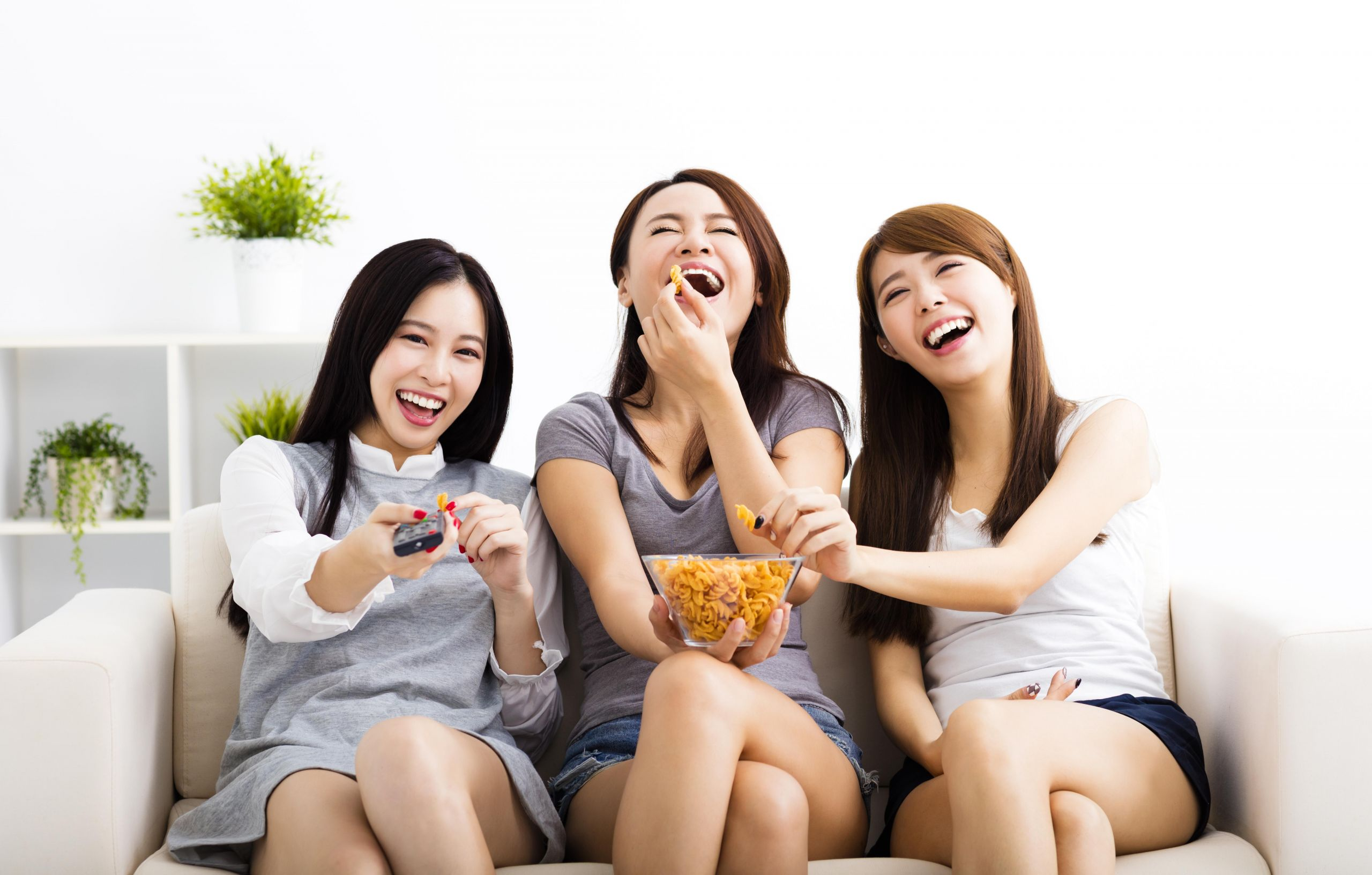 Sounds simple but it's effective - laughing is a great way to relieve your stress.