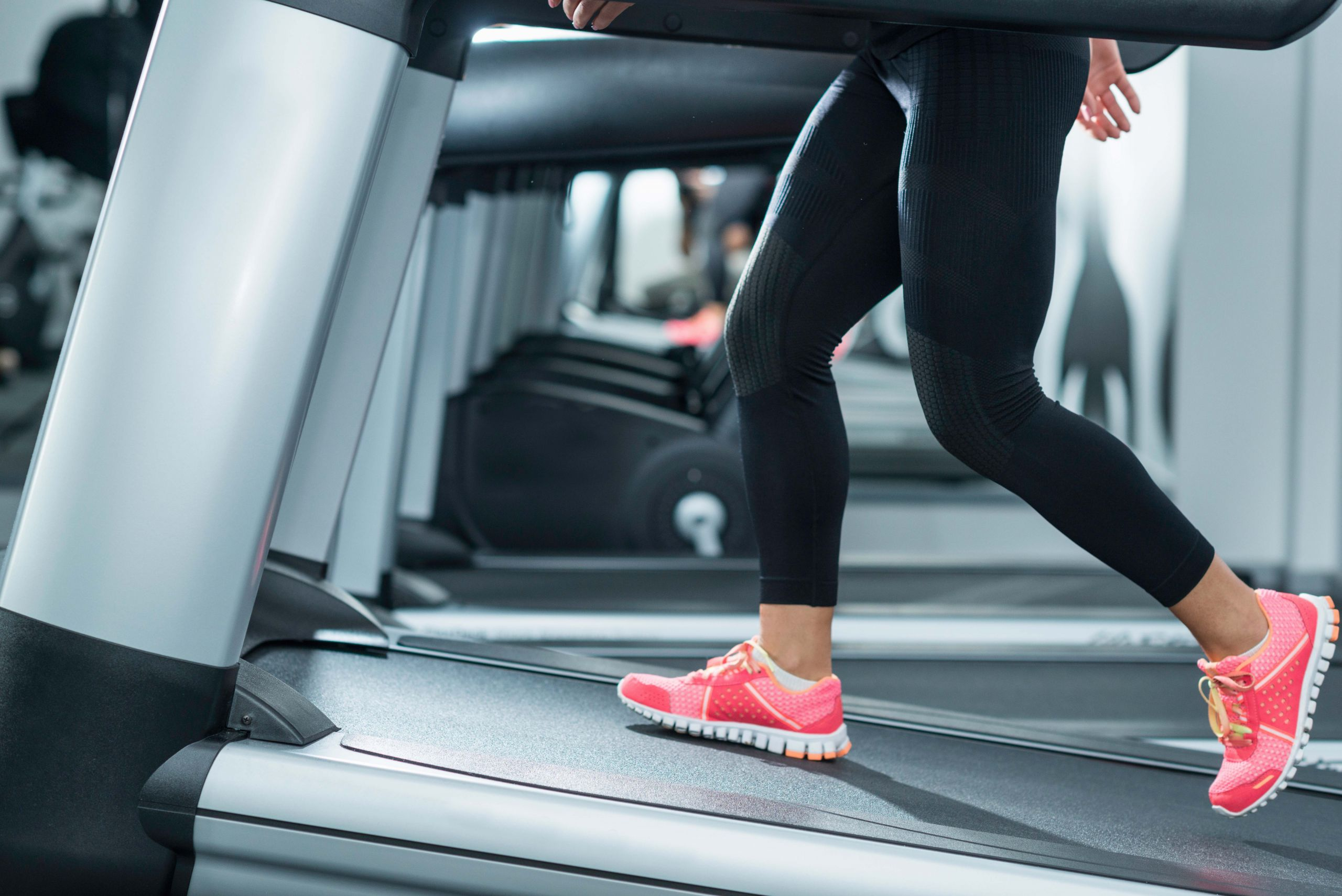Increase the incline on the treadmill to burn more calories quickly.