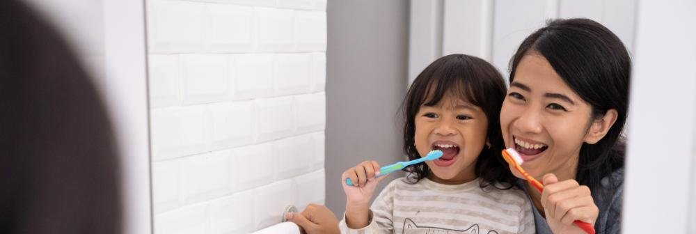 Pick up good oral health habits for strong healthy teeth and gums.