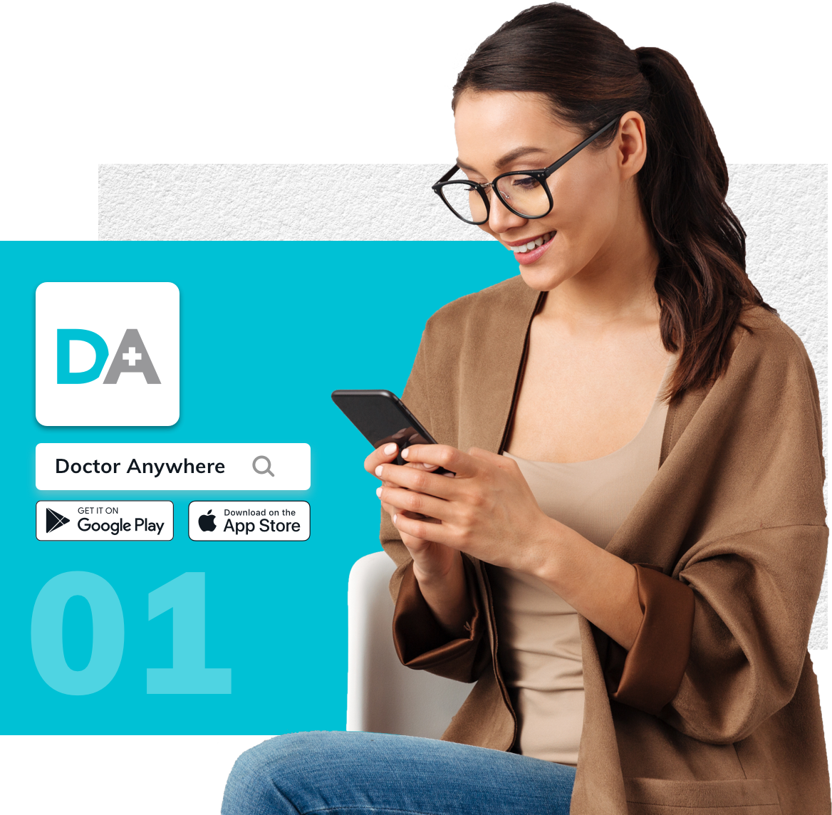 Download Doctor Anywhere app