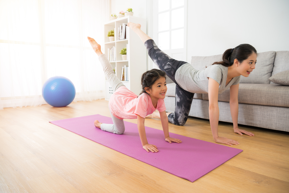 Staying active and exercising regularly goes a long way.