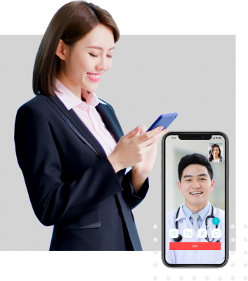 Speak to a doctor anytime over video call