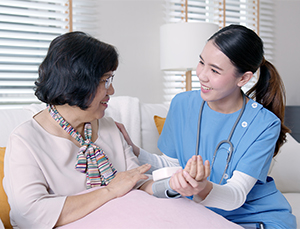 Home nursing services with Doctor Anywhere