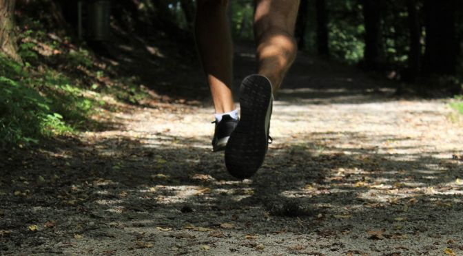 Learn how to exercise safely outdoors, such as trail running