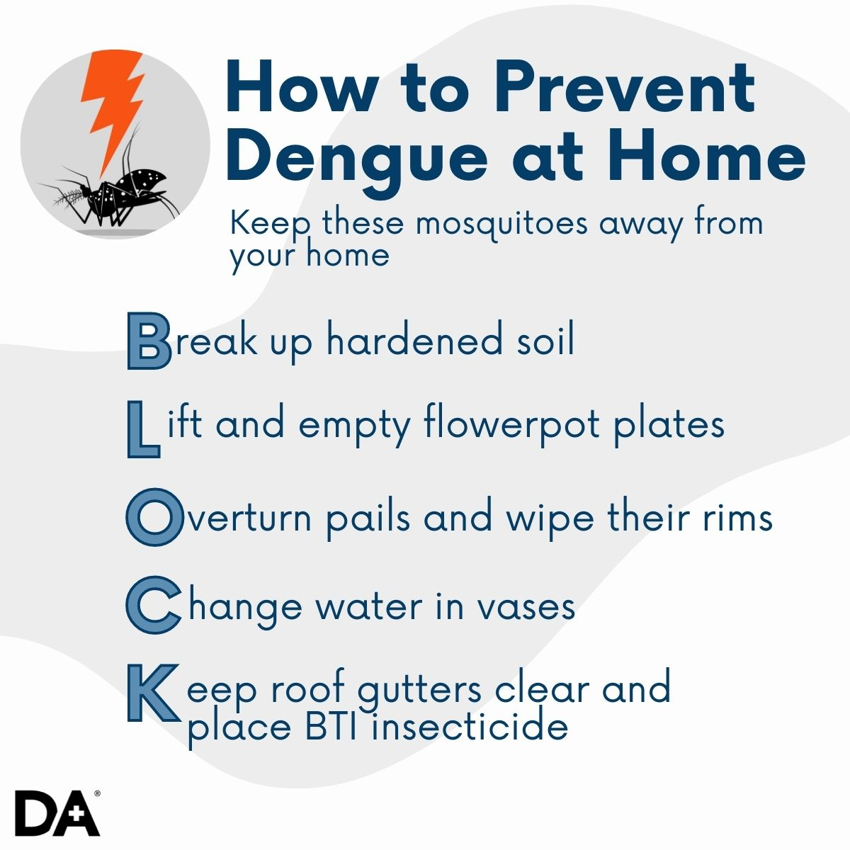 Prevent Dengue at Home in Sinagpore with these simple steps