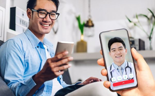 Telehealth video consultations available over the Doctor Anywhere app