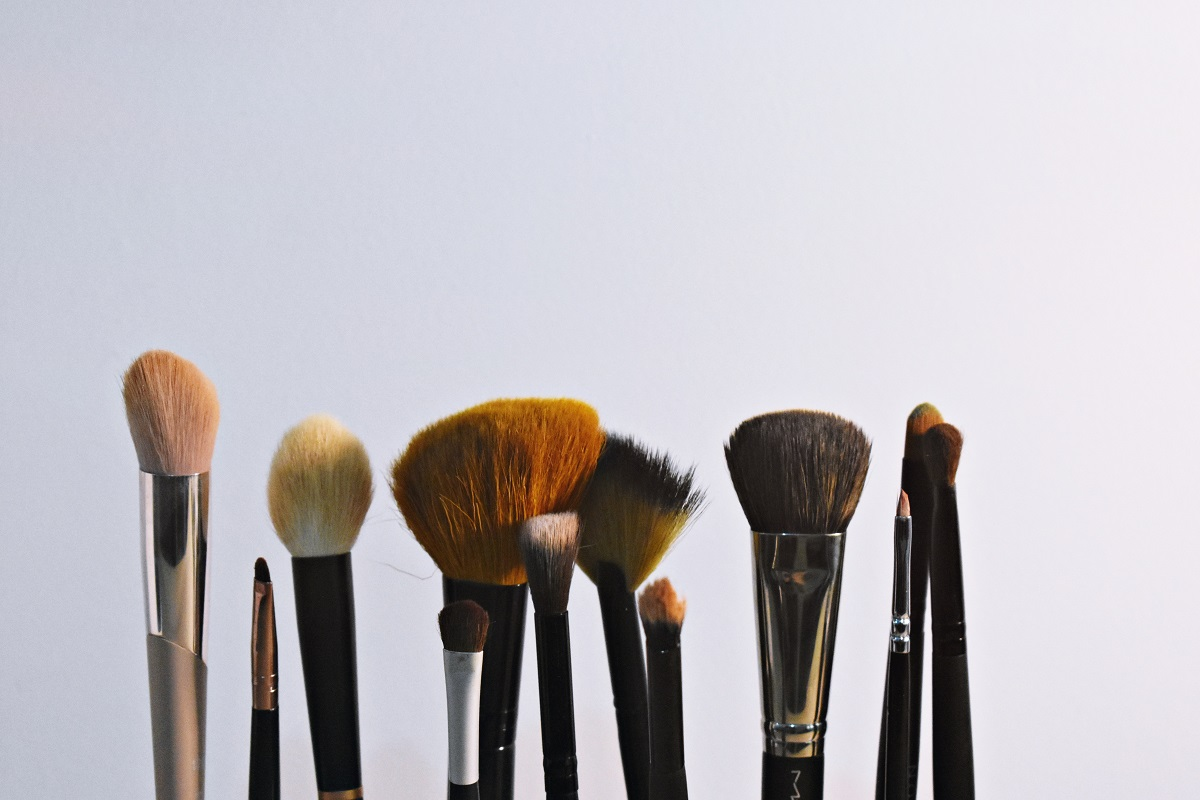 Clean your make up brushes regularly.