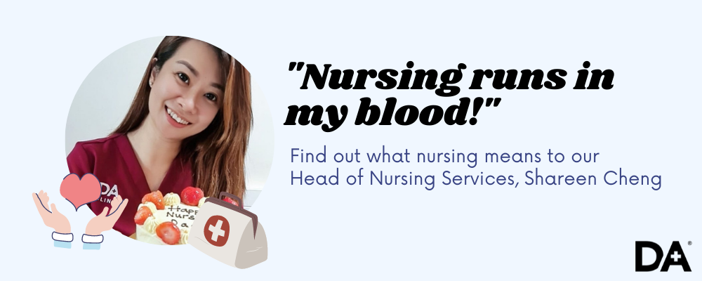 Head of Doctor Anywhere's Nursing Services, Shareen Cheng, shares more about what it's like to be a nurse