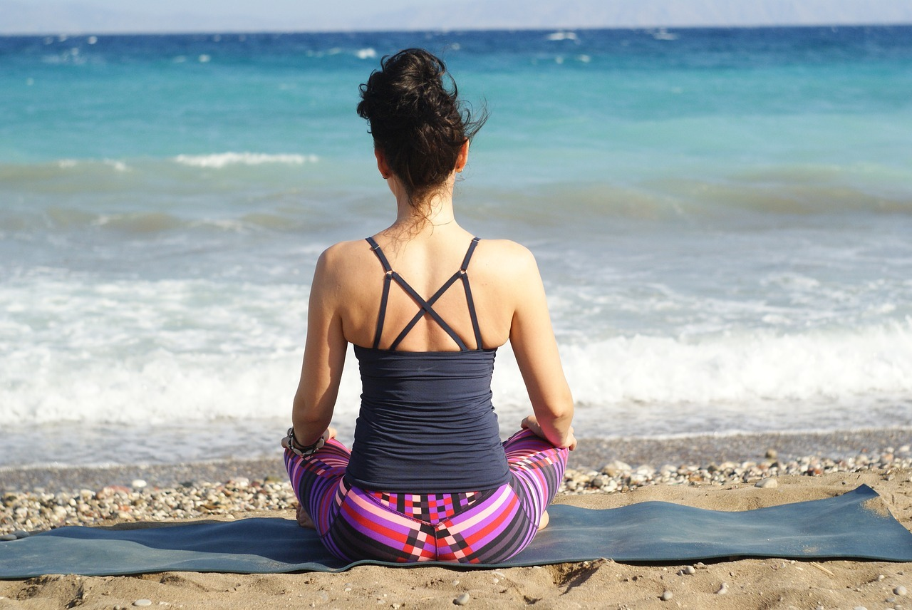 Meditation is a great way to calm the mind