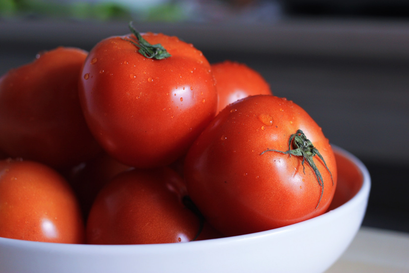 Tomatoes are a great anti-aging food, and are full of vitamins and nutrients that are great for your skin.