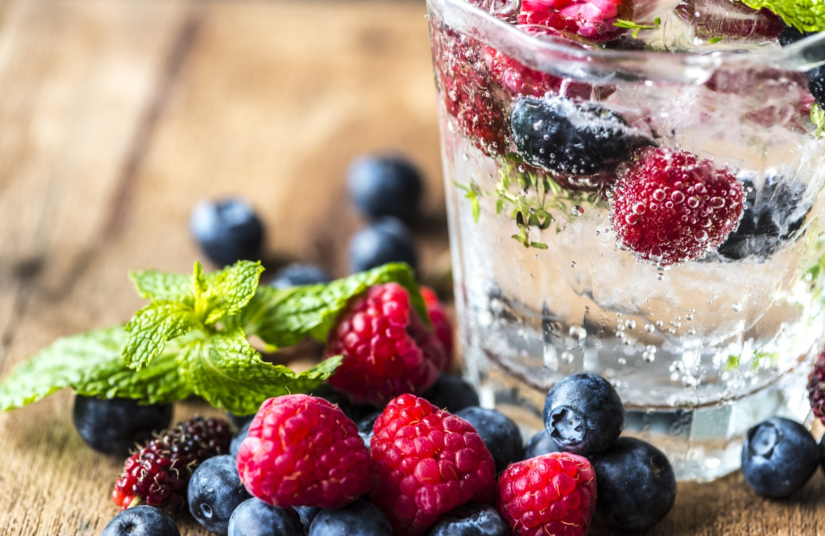 If you want to spice up your plain water, consider adding in some of your favourite fruits and have infused water instead.