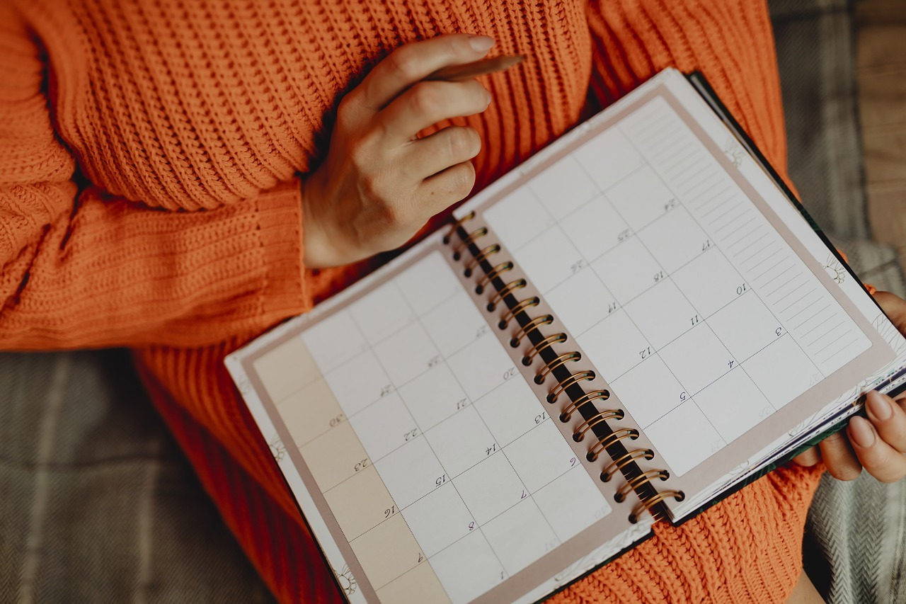 Keeping organised will go a long way for your mental health.