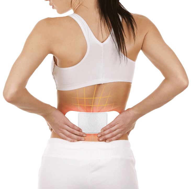 Manage your pain with heat patches.