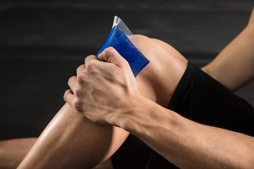 An ice pack may help to reduce your pain.