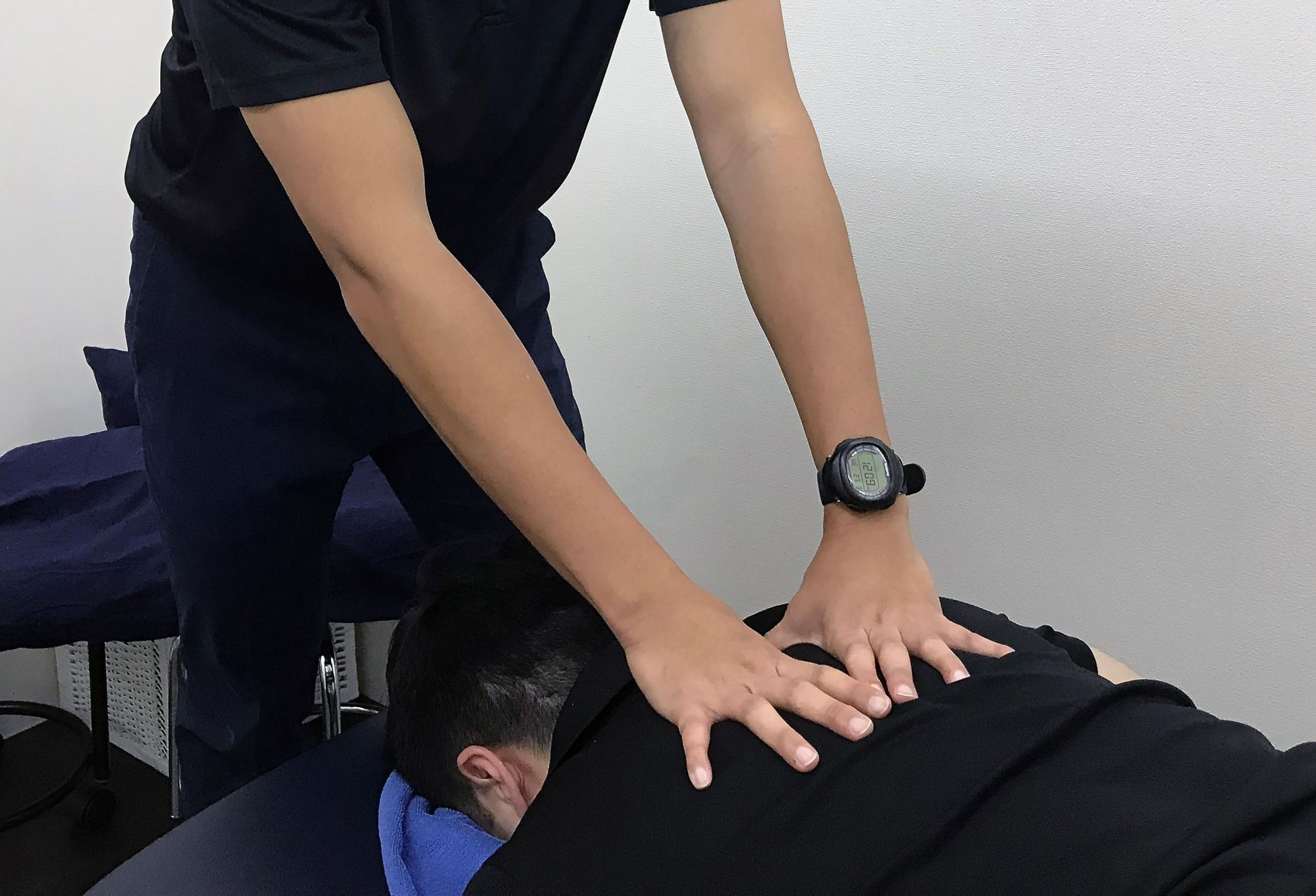 Massages may be helpful in relieving body aches and pains.