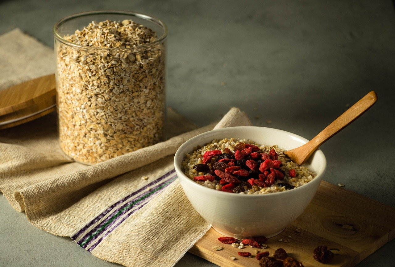 Whole grains are packed with nutrients that help to lower risk of heart disease.