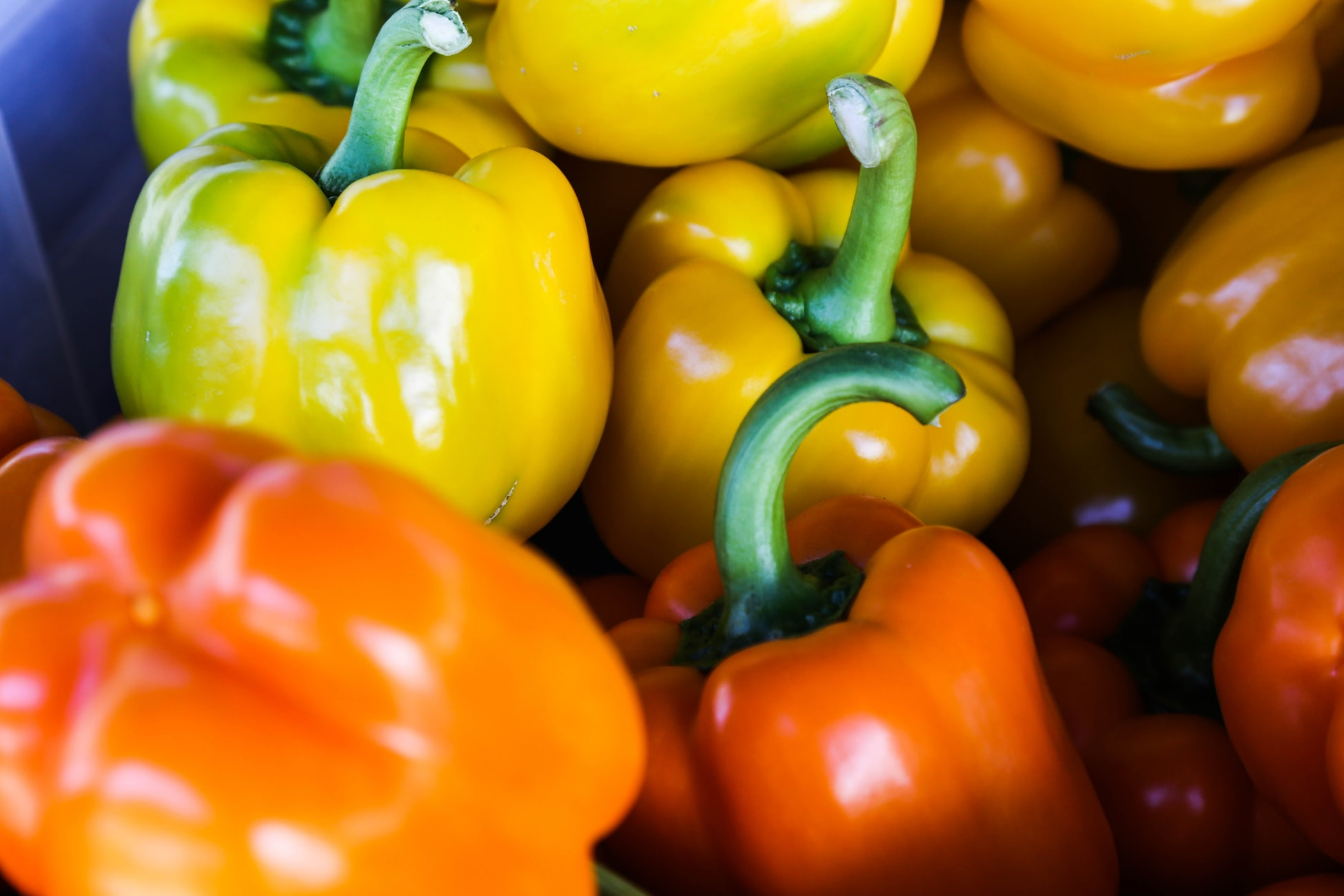 Bell peppers are full of skin-boosting vitamins and nutrients.