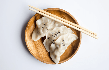 Have steamed dumplings instead of fried ones for something healthier.