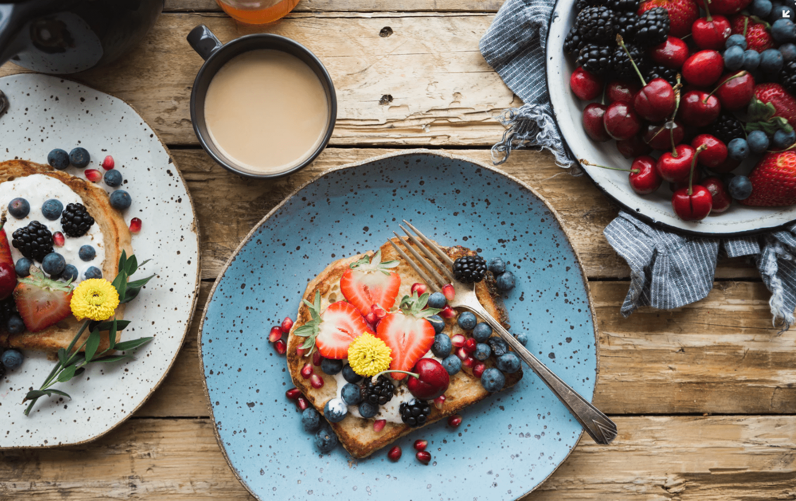 Berries are a great superfood that add sweetness to dishes with little guilt.