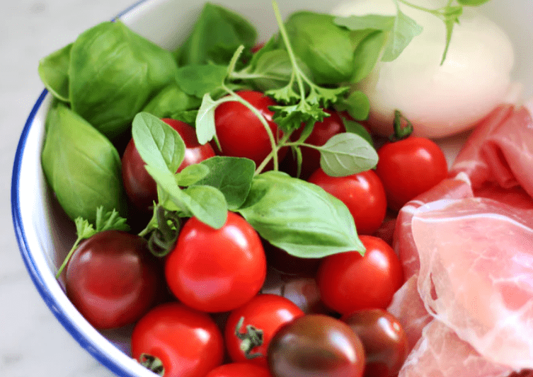Tomatoes are full of vitamins and nutrients.