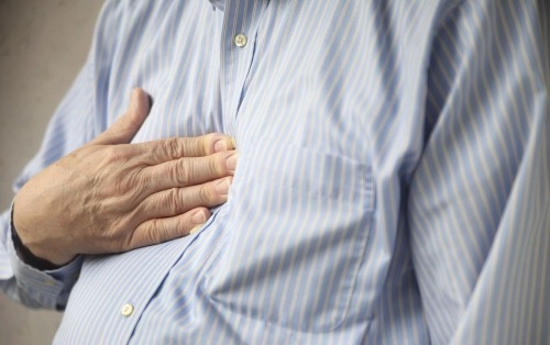 You may be suffering from heartburn