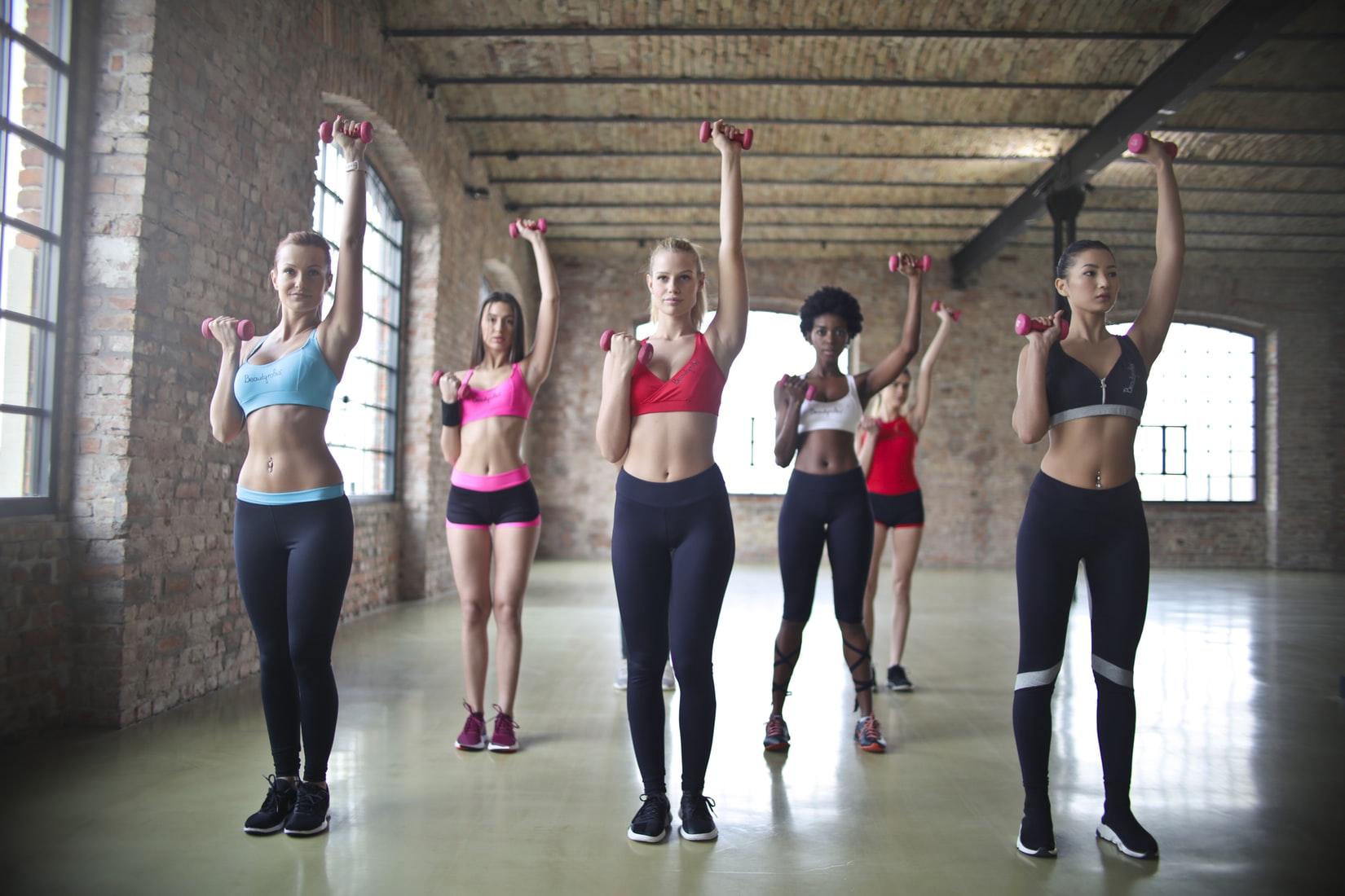 Myth 2: Lifting weights make women bulky.