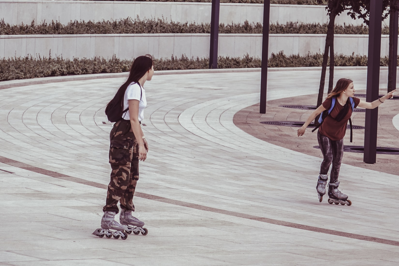 Rollerblading is a fun low-impact exercise, that will get your heart racing.