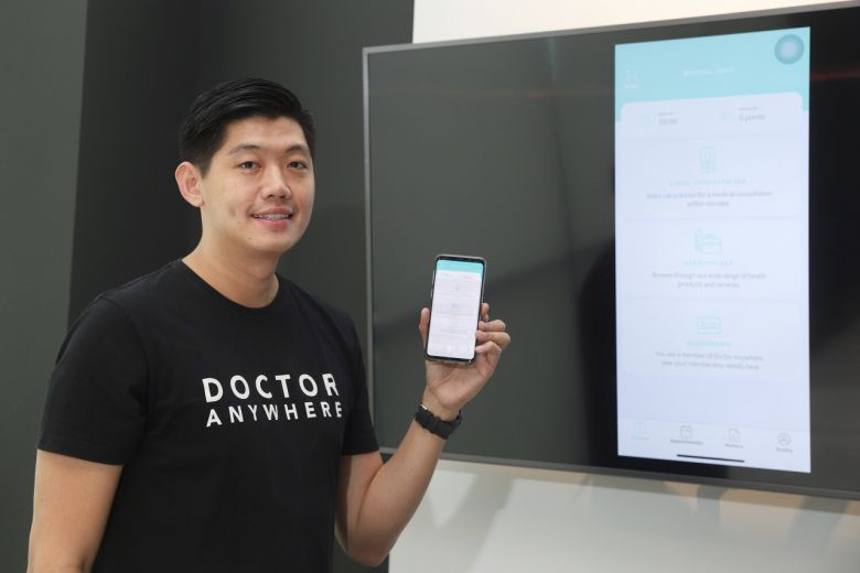 Lim Wai Mun, founder and CEO of Doctor Anywhere