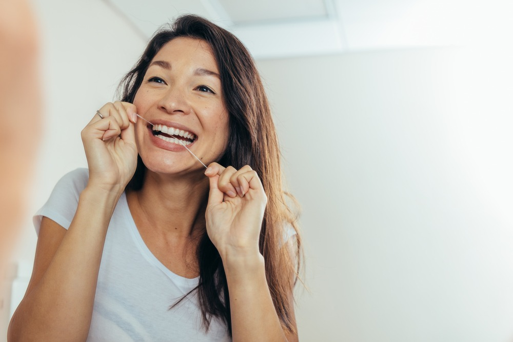 Flossing is a crucial part of maintaining good oral hygiene.