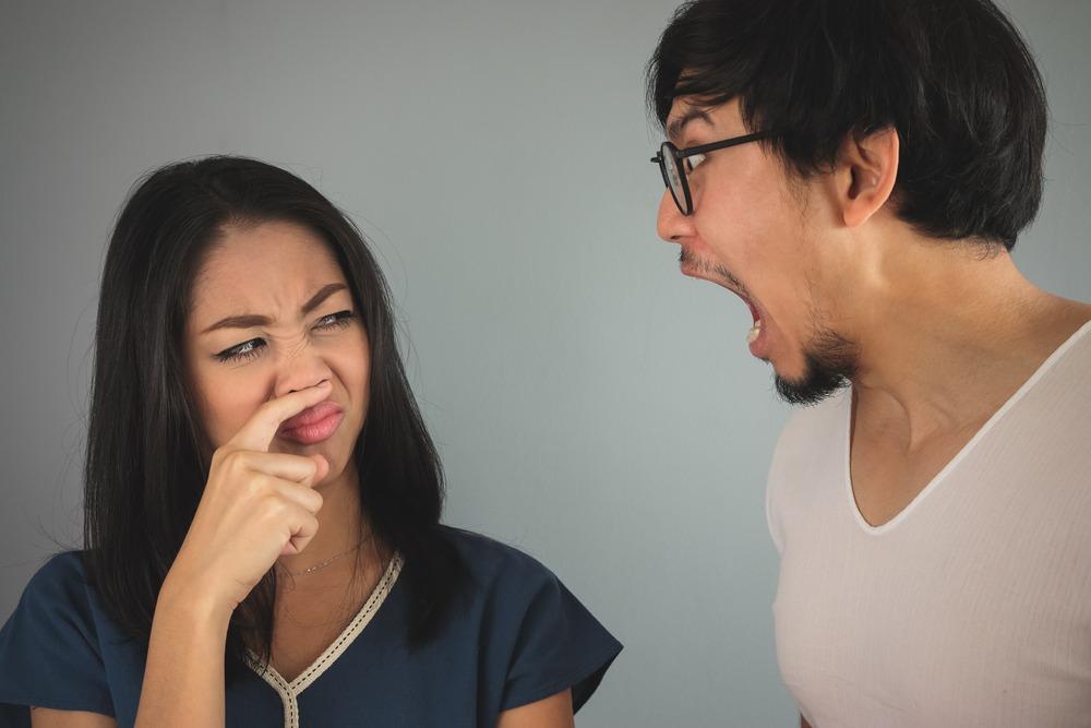 Having bad breath is a big social killer.
