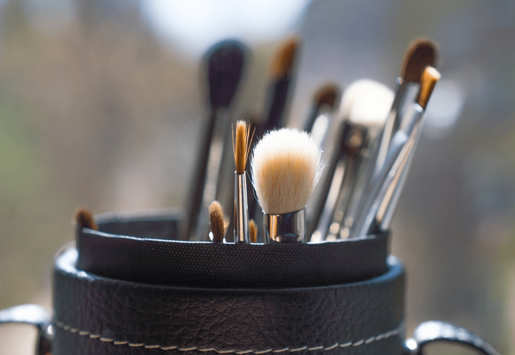 Clean your make-up brushes regularly to prevent build up of germs.