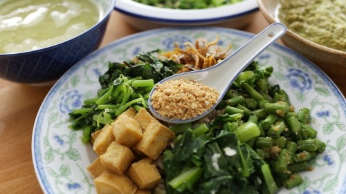 Try a bowl of thunder tea rice next time you're dining out
