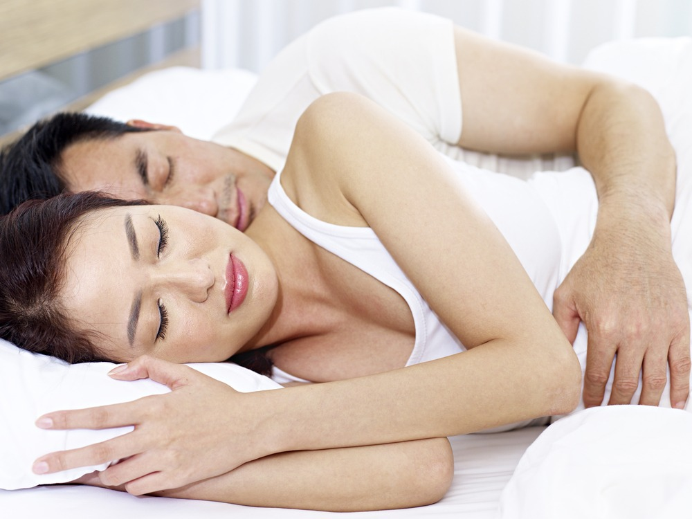 Sleeping on your side may help you to stop snoring.
