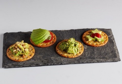 Avocado Crackers are a healthy alternative