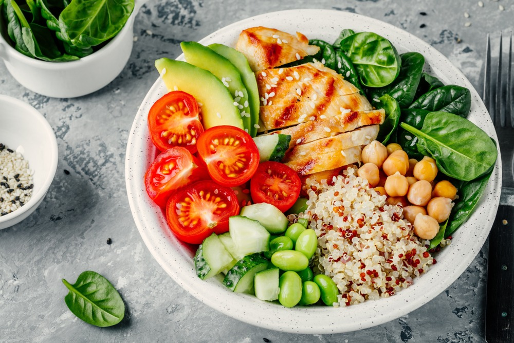 Try not to skip meals so that you don't eat more to compensate for it after.