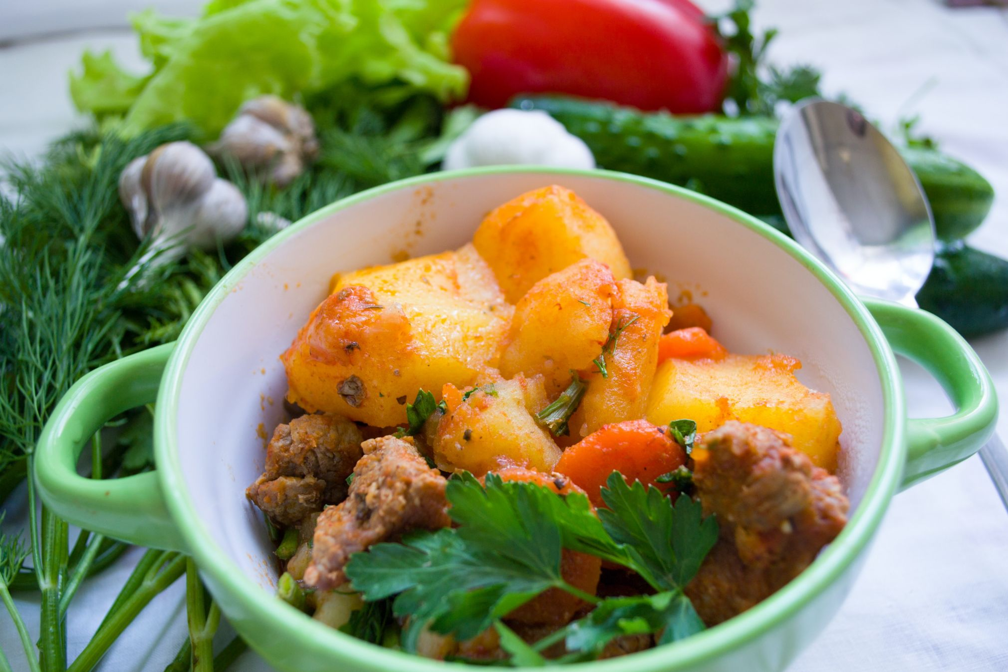 Prepare home-cooked meals to make sure your body gets all the nutrients and vitamins it needs.