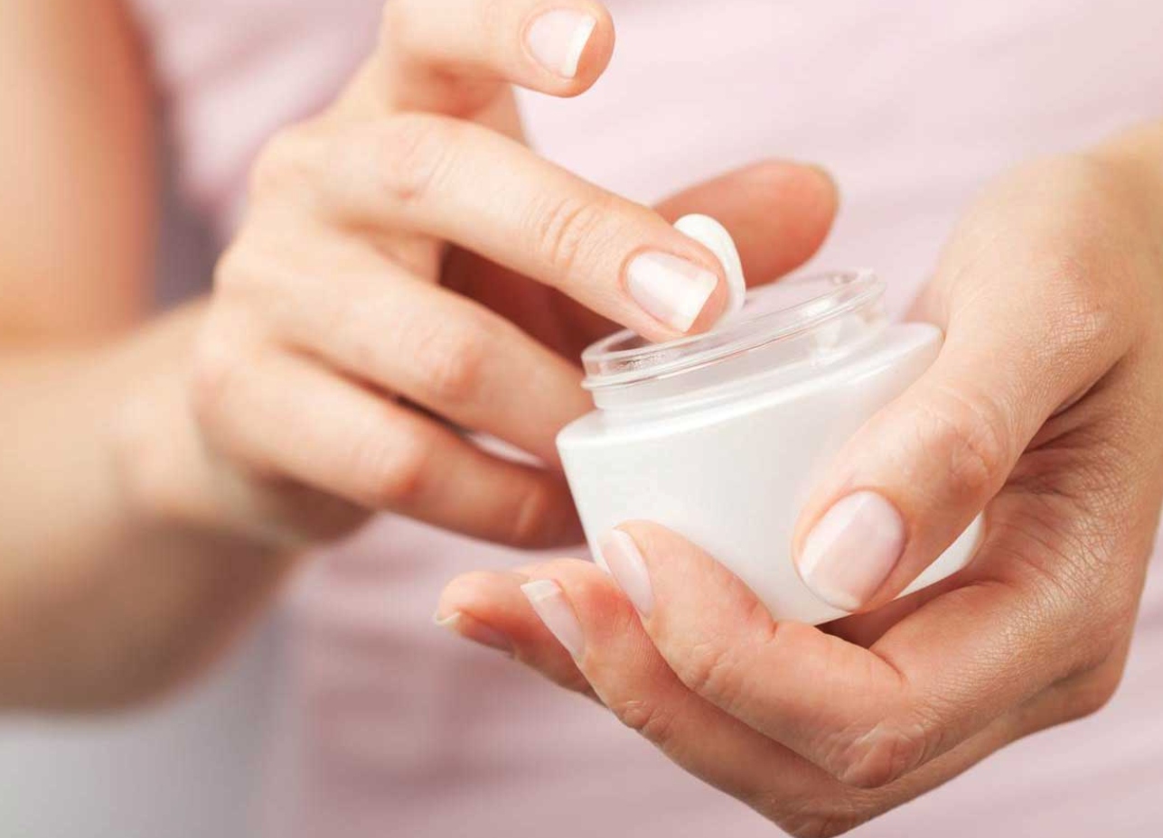 Using a moisturiser can go a long way, especially if you have dry skin.
