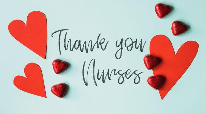 We thank all nurses this Nurse's Day!