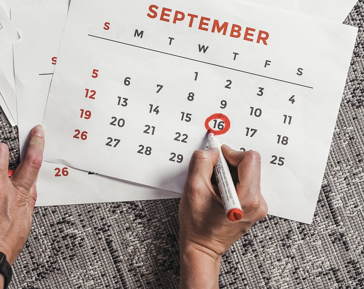 Choose a date to commit to quitting smoking