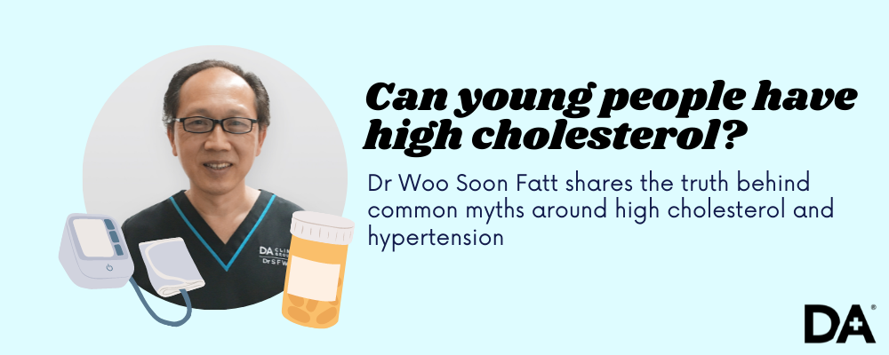 Dr Woo Soon Fatt of Doctor Anywhere busts myths around high cholesterol and hypertension