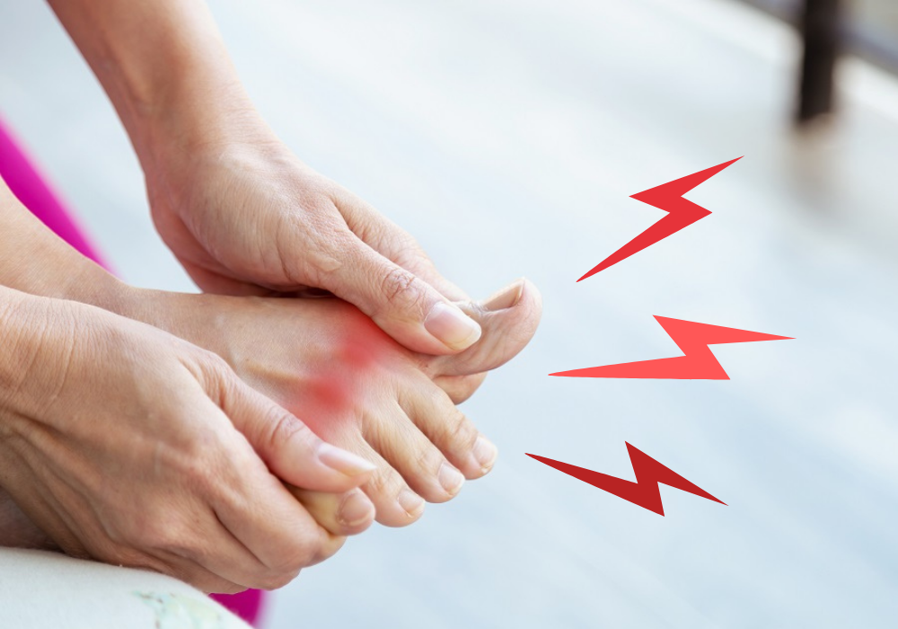 Suffering from gout pain?