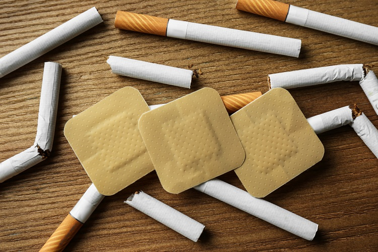 Nicotine Replacement Therapy, such as nicotine patches, can help with quit smoking withdrawals