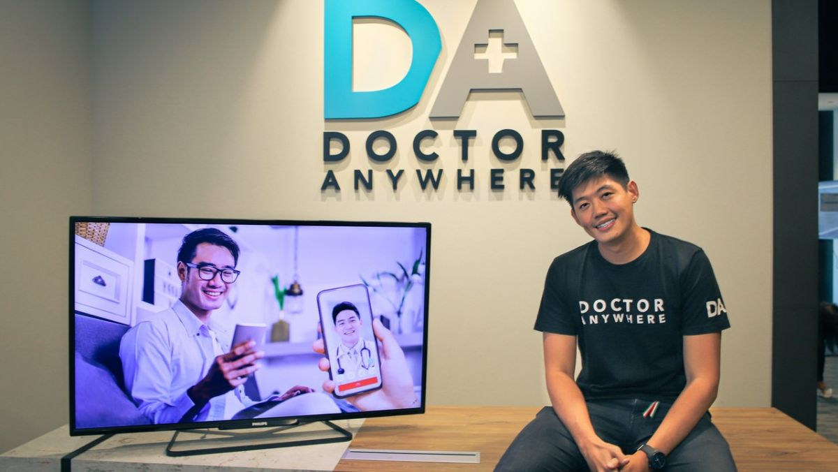 Doctor Anywhere's founder and CEO, Lim Wai Mun